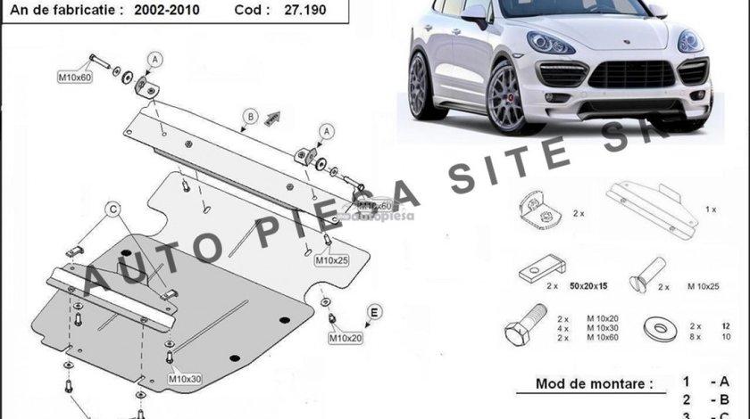 Scut metalic motor Porsche Cayenne fabricat in perioada 2002 - 2010 APS-27,190 piesa NOUA