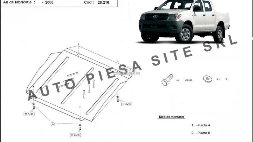 Scut metalic motor Toyota Hilux fabricata incepand cu 2006 APS-26,216 piesa NOUA