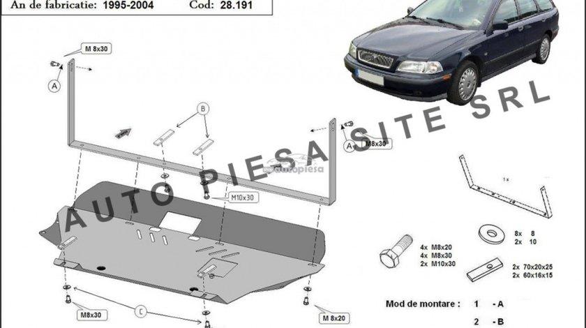 Scut metalic motor Volvo V40 fabricat incepand cu 1995 - 2004 APS-28,191 - produs NOU