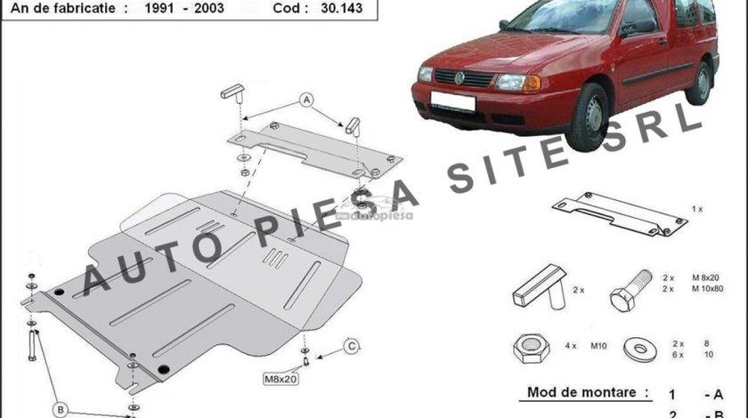 Scut metalic motor VW Caddy 2 II fabricat in perioada 1991 - 2003 APS-30,143 - produs NOU