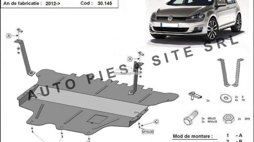 Scut metalic motor VW Golf 7 VII fabricat incepand cu 2012 APS-30,145 - produs NOU