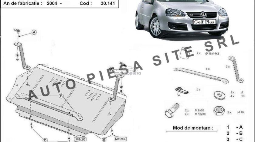 Scut metalic motor VW Golf Plus fabricat incepand cu 2005 APS-30,141 - produs NOU