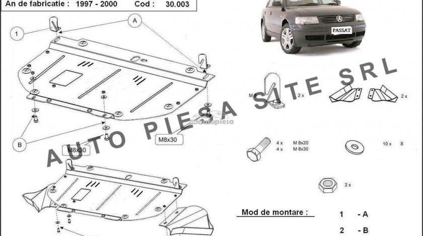 Scut metalic motor VW Passat (3B2, 3B5) 1.6 / 1.8 / 1.9 TDI fabricat in perioada 1997 - 2000 APS-30,003 - produs NOU