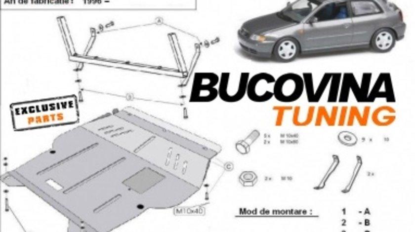 SCUT METALIC  pentru Audi A3 8L / GOLF 4