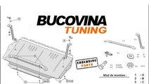 SCUT METALIC pentru Audi A3 8P, Altea, Toledo, Oct...