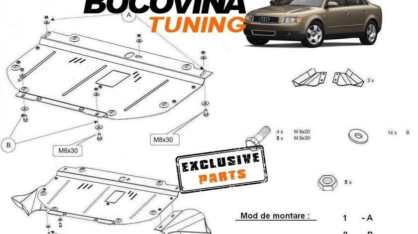 SCUT METALIC  pentru Audi A4 B6 2001 - 2005 , SKODA SUPERB