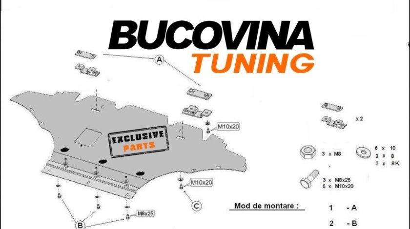 SCUT METALIC pentru Audi A4 B8, Audi A5
