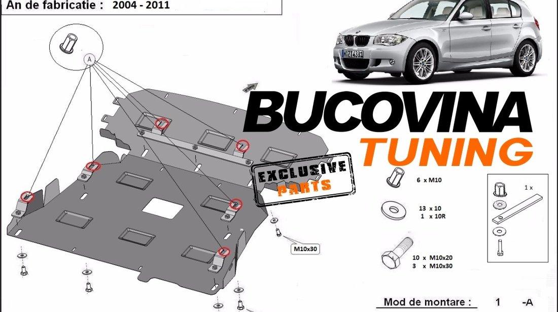 SCUT METALIC pentru BMW SERIA 1 -  E81 E87