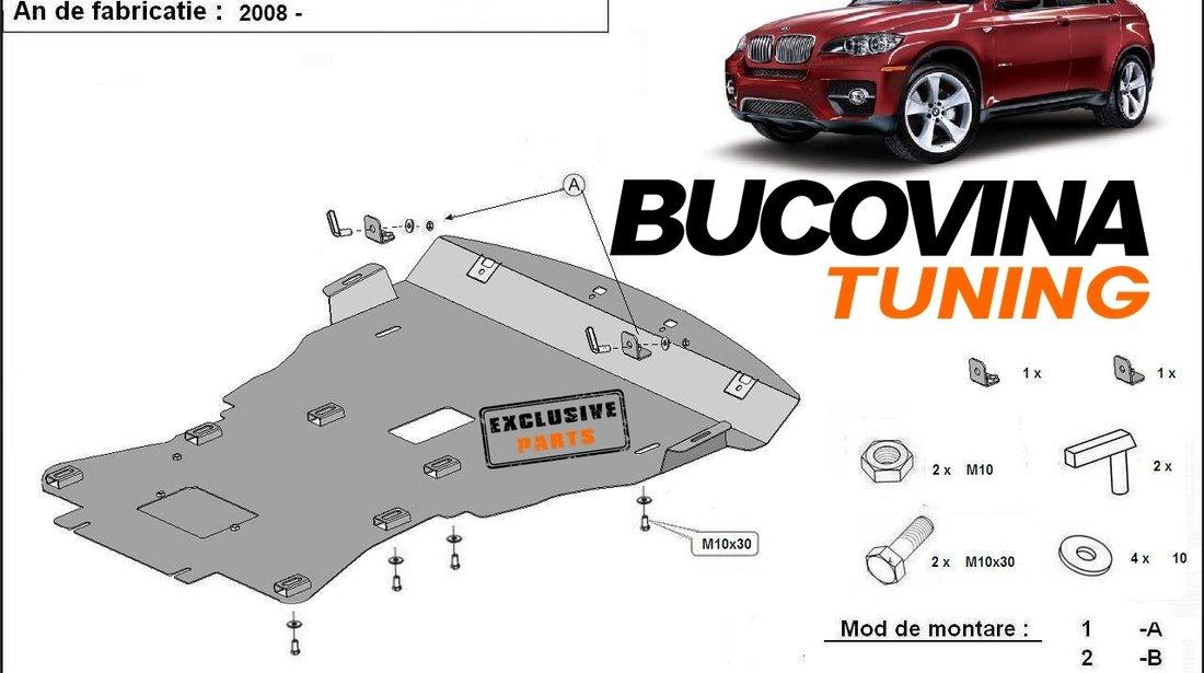 SCUT METALIC  pentru BMW X6  dupa 2008 ( E71 , E72 )
