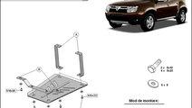 Scut metalic pentru diferential Dacia Duster I 201...