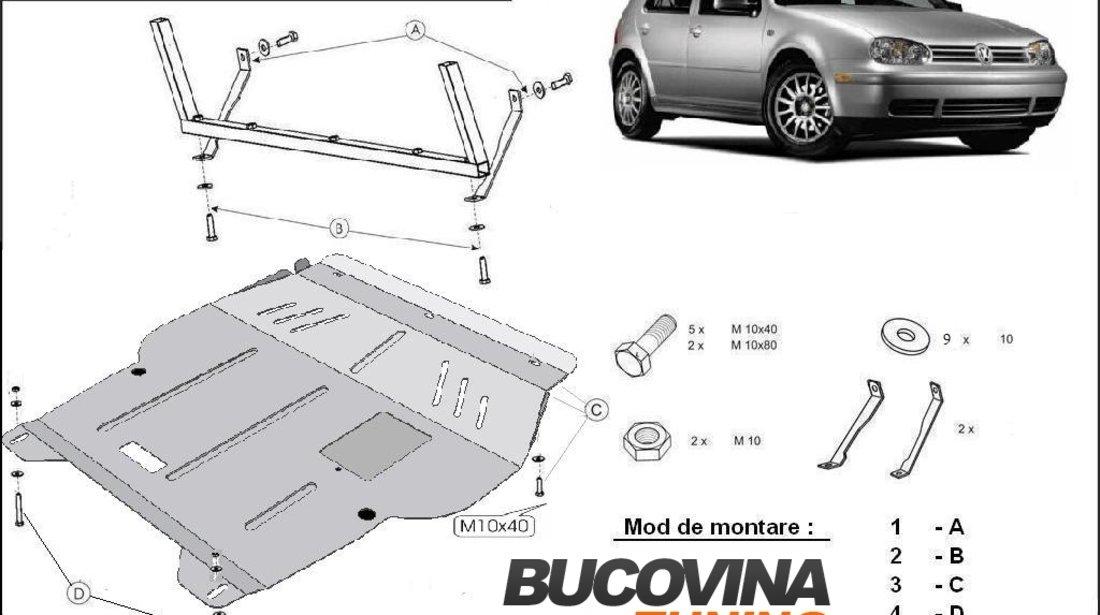 SCUT METALIC  PENTRU VW GOLF 4 / BORA
