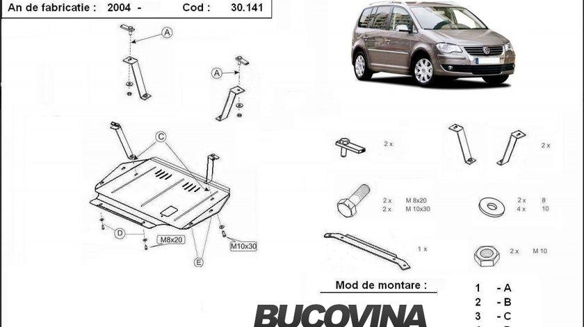 SCUT METALIC  PENTRU VW TOURAN