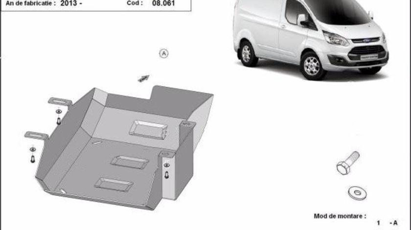 Scut metalic rezervor Ford Transit Custom AdBlue 2013-prezent