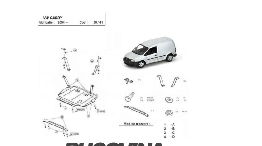 SCUT METALIC VW CADDY