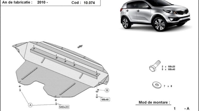 Scut motor metalic Kia Sportage 2010-2015