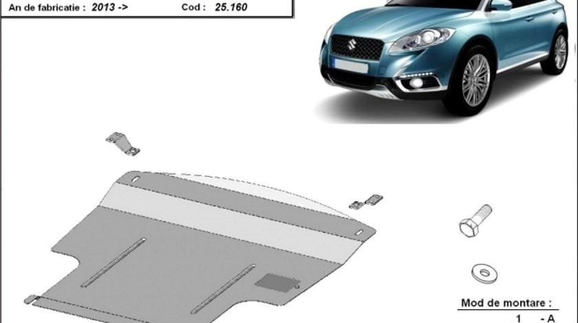 Scut motor metalic Suzuki S-Cross 2013-prezent