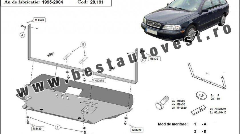 Scut motor metalic Volvo V40 1995-2004 toate motorizarile Kft Auto