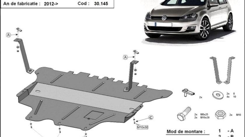Scut motor metalic VW Golf 7 Cutie Manuala 2012-prezent