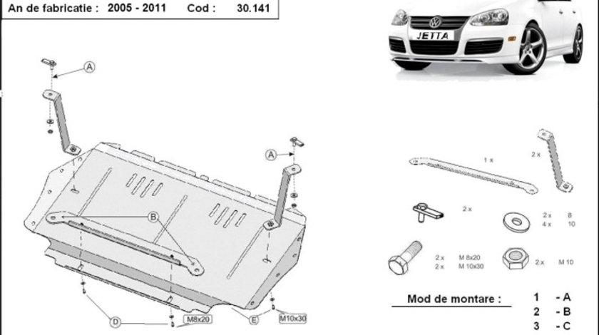 Scut motor metalic VW Jetta 2005-2011