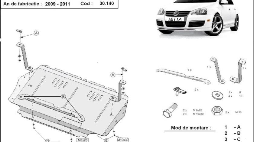 Scut motor metalic VW Jetta 2009-2011