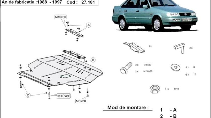 Scut motor metalic VW Passat - Diesel 35I 1988-1997