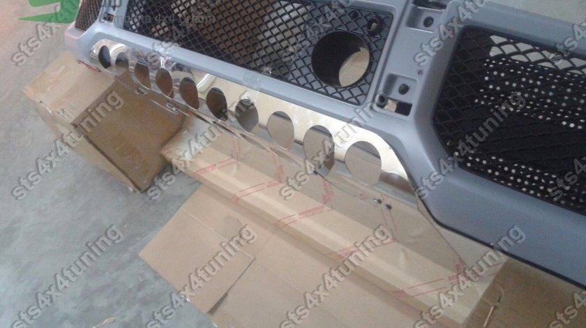 SCUT/PROTECTIE BARA FATA DIN INOX MERCEDES G-CLASS W463 AMG G63