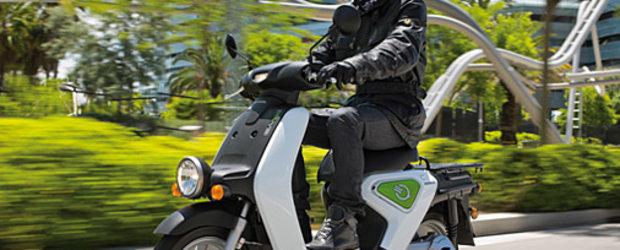 Scuterul electric Honda EV-neo vine si in Europa