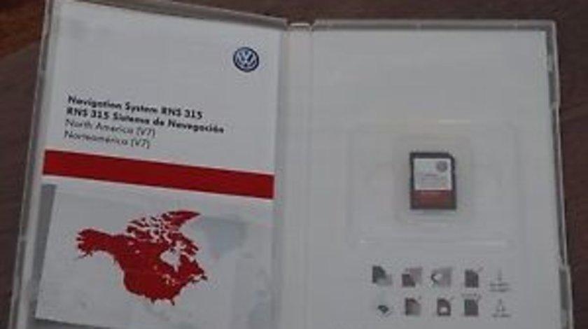 SD Card GPS VW Passat Golf Skoda Superb Seat RNS 315 Romania 2016 V8