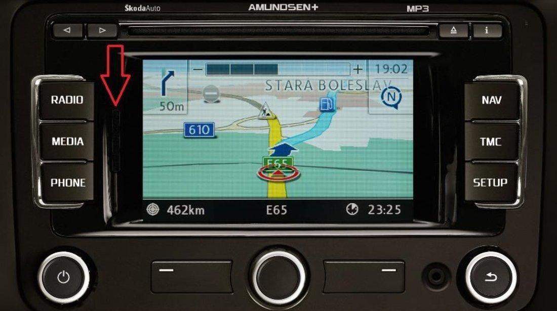 SD CARD Harti Navigatie GPS VW Seat Skoda Amundsen+ RNS315 ROMANIA