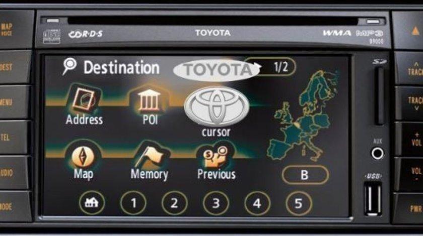 SD card Harti Navigatie Toyota TNS 510 Original Europa Romania 2020/2021