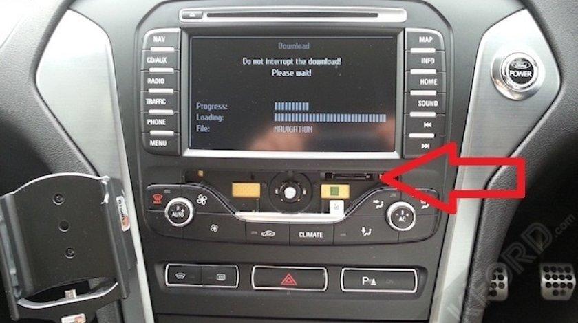SD Card navigatie Ford MCA Focus Kuga Mondeo harta ROMANIA 2019