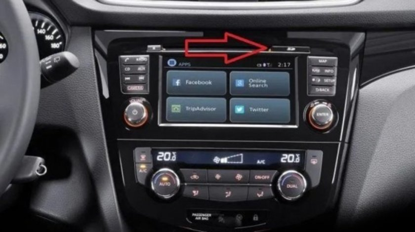 SD CARD navigatie Nissan Connect LCN 1 2 3 Juke Note Qashqai 2020
