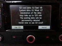 SD CARD original harti VW Seat Skoda Amundsen+ Rns315 Romania 2016 V8