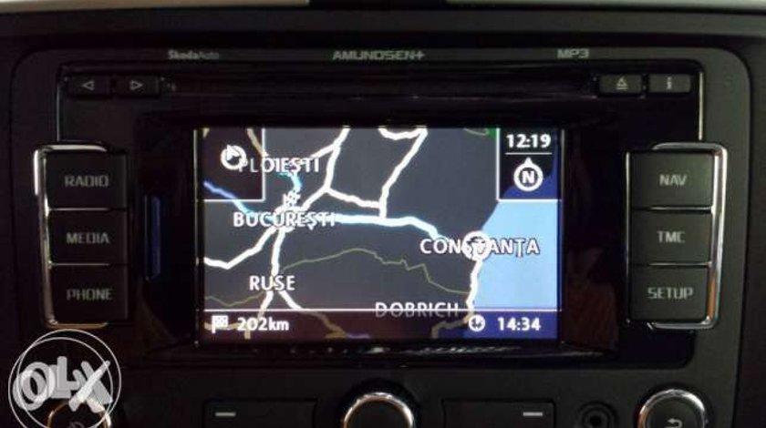 SD CARD ORIGINAL VW Skoda Rns 315 harta navigatie EU + ROMANIA 2020 V12