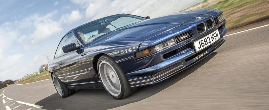Se anunta o batalie crancena pentru acest rar BMW Seria 8 modificat de Alpina