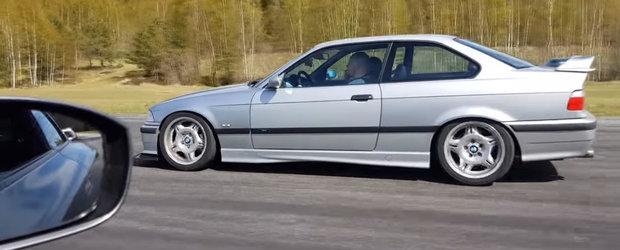 Se anunta o liniuta usoara, dar a pierdut-o fara drept de apel. Nissan GT-R impotriva unui BMW M3