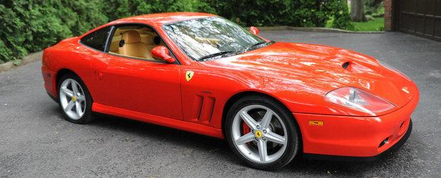 Se da la bani de nimic si este impecabil. Care-i treaba cu acest Ferrari 575M cu motor V12