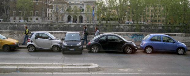 Se deschide prima parcare din Romania, in care poti plati cu un SMS