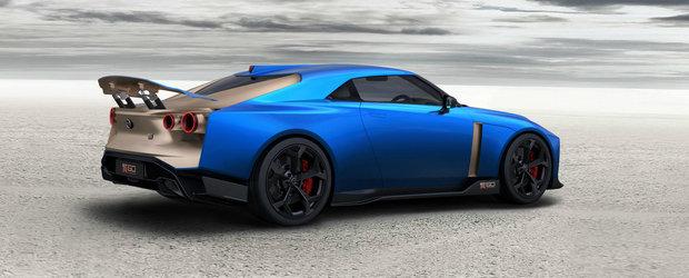 Se face in SERIE! Cum arata Nissan GT-R50, japoneza care costa 1 milion de euro NET