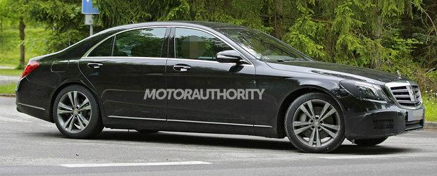 Se ingroasa gluma pentru noul BMW Seria 7. Mercedes lucreaza la o versiune imbunatatita a limuzinei S-Class