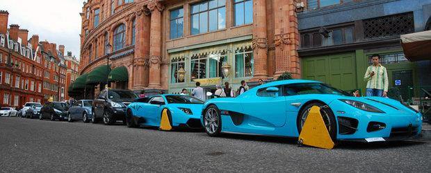 Se intampla in Londra... Accesorii pentru supercaruri!