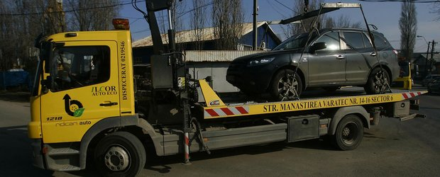 Se intampla in Romania! Un barbat, acuzat ca si-a furat propria masina