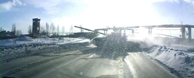 Se intampla in Rusia: Atentie la... tanc!