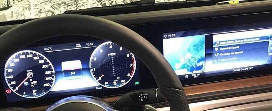 Se lanseaza abia anul viitor. POZE de la interior cu noua masina de lux de la Mercedes