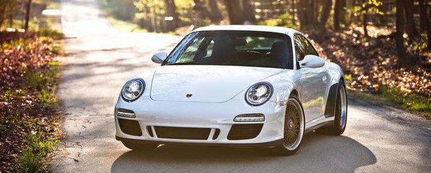 Se poarta Retro-Modern: Porsche 997 cu jante HRE Vintage si eleron Ducktail