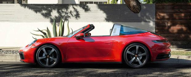 Se poate sa fie cel mai frumos 911 de ultima generatie. Fa cunostinta cu noul 911 Targa