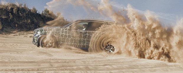 Se pregateste de lupta cu Audi Q7 si Mercedes GLE. Noua generatie e testata in cele mai dificile conditii