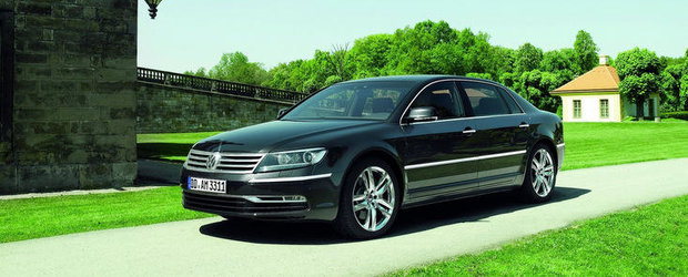 Se pregateste o noua generatie Volkswagen Phaeton