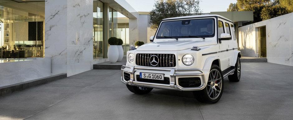 Se pregateste sa faca de rusine multe sportive. Mercedes a lansat noul G63 AMG cu 577 de cai sub capota