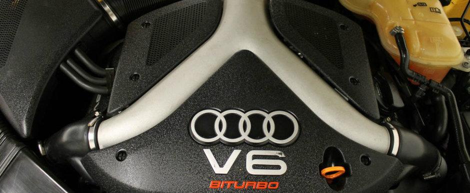 Se vinde la pachet alaturi de un motor V6 biturbo. Cum arata si cat costa acest exclusivist Audi